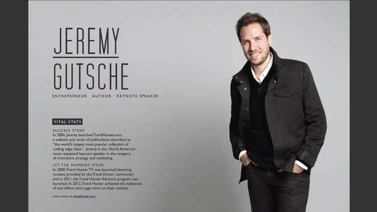 Trend Setting: RW&Co. Features Innovation Speaker Jeremy Gutsche In Their Fall Campaign